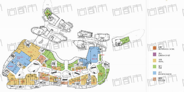 无锡万象城楼层品牌平面图首度公开 餐饮开幕