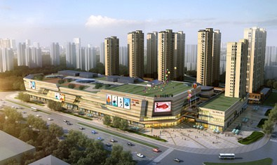 衢州新城吾悦广场2017年开业 大牌品牌进驻图片