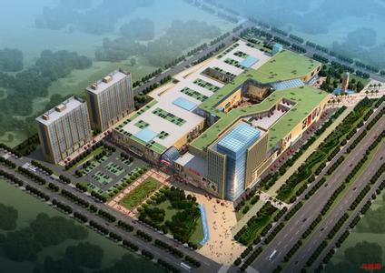 上海自贸区嘉兴商务中心建成后